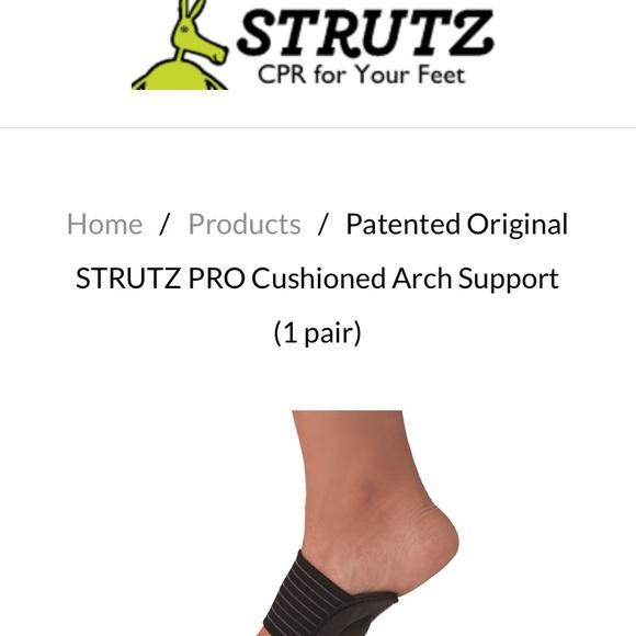 Strutz Cushioned Arch Support